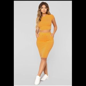 Casual Lover Yellow Set